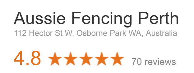 Google Reviews Aussie Fencing