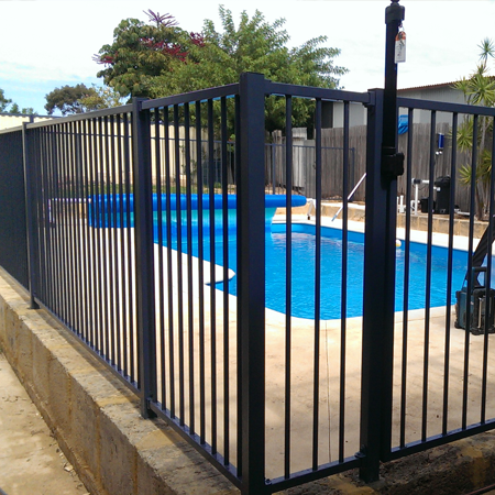 Pool fencing Aussie Fencing
