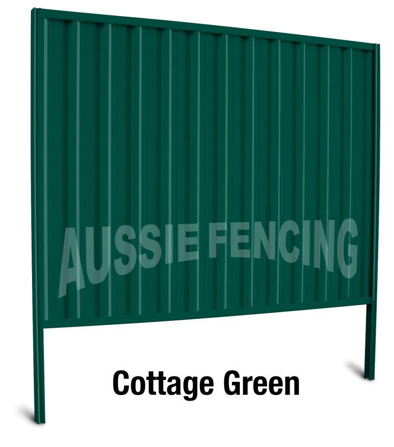 Australian Colorbond Steel Modular Fencing Aussie Fencing